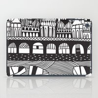 england iPad Cases featuring Brighton, England by Caroline Rees