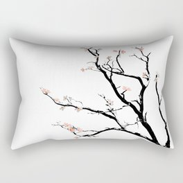 Cherry Blossoms tree Rectangular Pillow