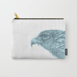 Eagle_Turqouise by Pia Tham Carry-All Pouch