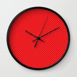 Polkadots_2018016_by_JAMFoto Wall Clock