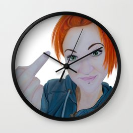 UNTITLED Wall Clock