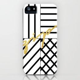 Zip iPhone Case