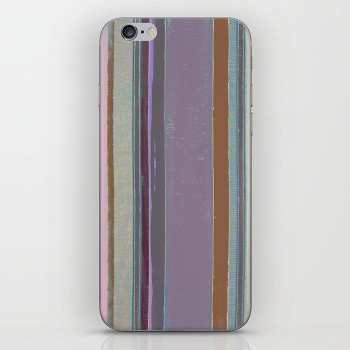 Boho stripe design pattern iPhone Skin
