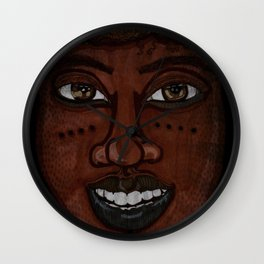 Afrikan Beauty Wall Clock