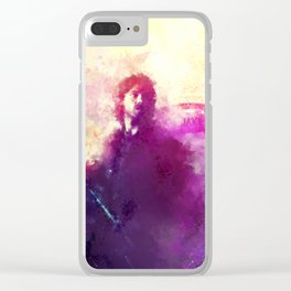 Grave Clear iPhone Case