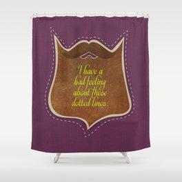 Beard stories 6 Shower Curtain