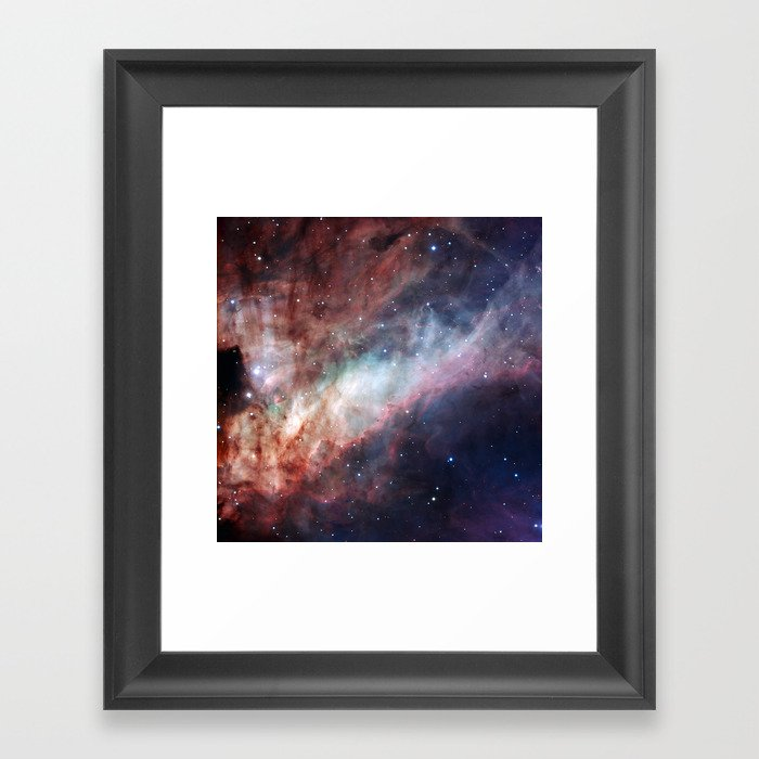 Astrophotography, The Omega Nebula Gerahmter Kunstdruck