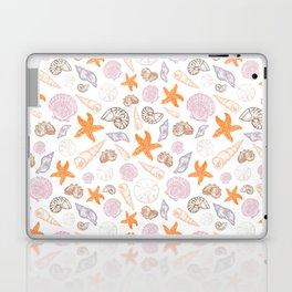 Seashell Print Laptop & iPad Skin