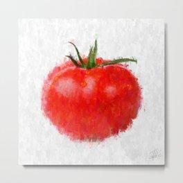 Big Tomato Metal Print