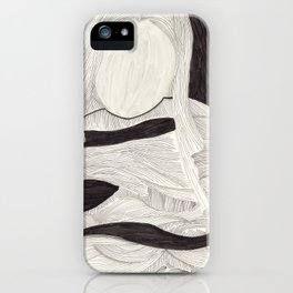 Tangle face iPhone Case