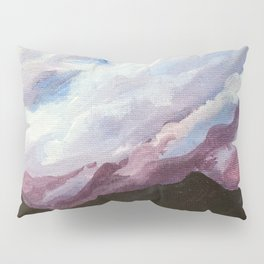 Purple Clouds Pillow Sham