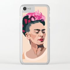 Frida Kahlo - Artist Series Clear iPhone Case