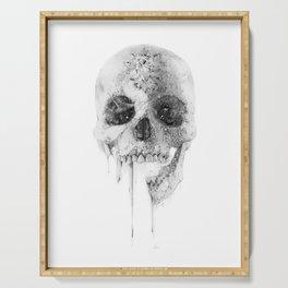 Crystal Skull Serving Tray