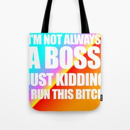 Boss Knockout Tote Bag