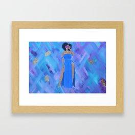 Queenin' Framed Art Print
