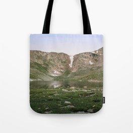 Summit Lake Tote Bag