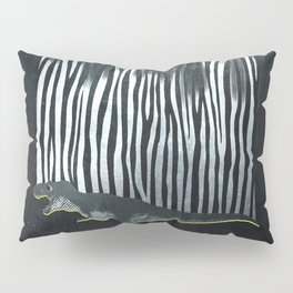 zebrex - the tyrex who wanted to become a zebra  Pillow Sham