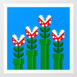 Carnivorous Plant Art Print