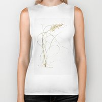 plant Biker Tanks featuring Plant by Kamiledesigns