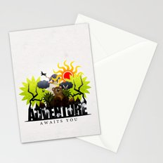 Adventure Awaits You Stationery Cards