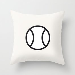 Tennis - Balls Serie Throw Pillow