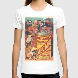 Vintage poster - Brilliant Liquide Mecano T-shirt