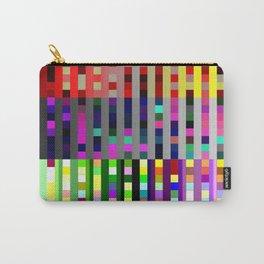 Retro Squares - Digital Art piece Carry-All Pouch