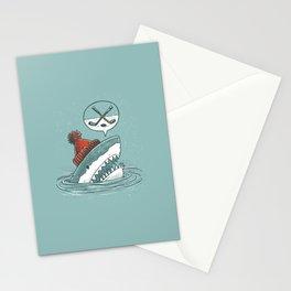 Hockey Shark Stationery Cards