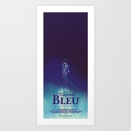 Le Grand Bleu Art Print