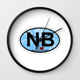Naples Beach - Florida. Wall Clock