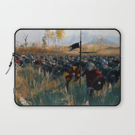 Medieval Army in Battle Laptop Sleeve