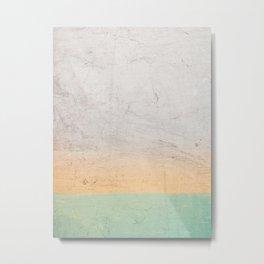 Soothing Gradient Metal Print