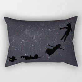 Peter Pan - Fly to Neverland  Rectangular Pillow