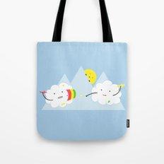 Cloud Fight Tote Bag