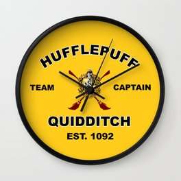 HUFFLEPUFF TEAM Wall Clock