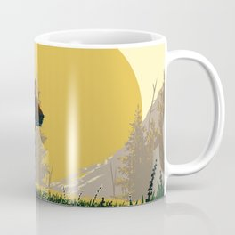 Early Morning Grizzly Bear Coffee Mug