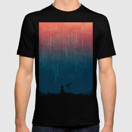 Meteor rain T-shirt