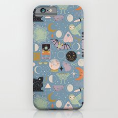 Lunar Pattern: Blue Moon Slim Case iPhone 6s