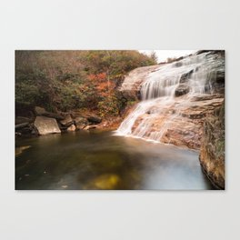 Graveyard Fields Lower Falls Canvas Print