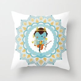 Agni Throw Pillow