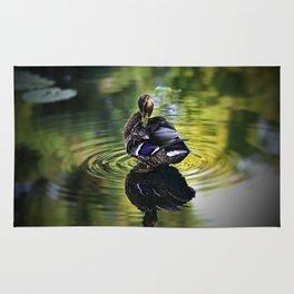 Reflective Duck Rug