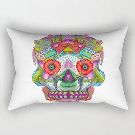 Hummingbird Skull II Rectangular Pillow