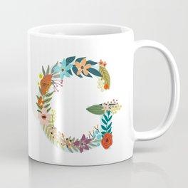 Monogram Letter G Coffee Mug