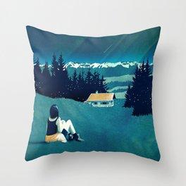 Magical Solitude Throw Pillow