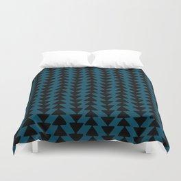 Blue Arrows Duvet Cover