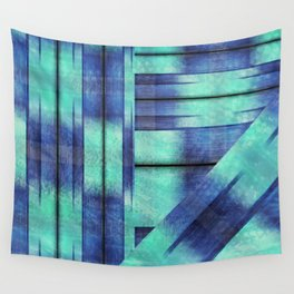 Fancy Fence Posts Wall Tapestry