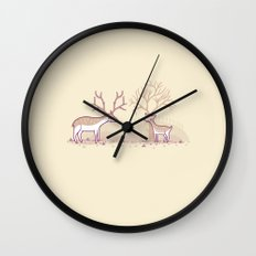 Growing up fast Wall Clock