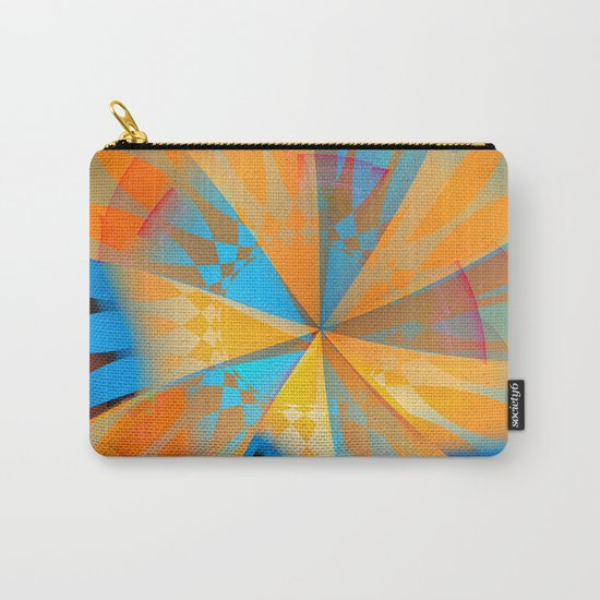 Thinking of a blue sky and the summer sun Carry-All Pouch