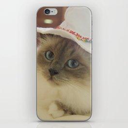 Cowboy Cat iPhone Skin