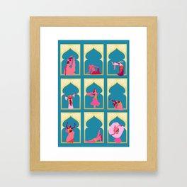 Danse du Ventre Framed Art Print